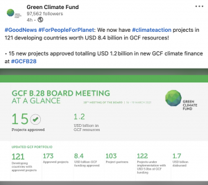 Green Climate Fund Project Snapshot