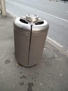 Cigarette Dustbin