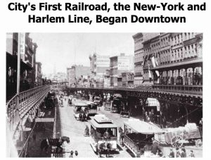 Trams - NewYork Harlem Line