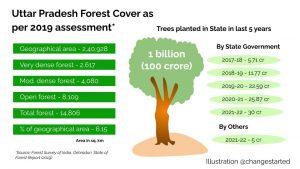 Uttar Pradesh Forest Cover